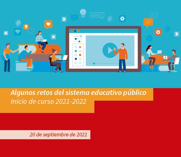 Informe comienzo de curso 2021/2022